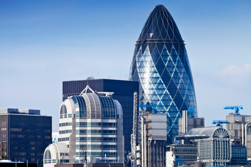 The City Gherkin Building