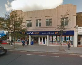 Vacant Shop with development walthamstow